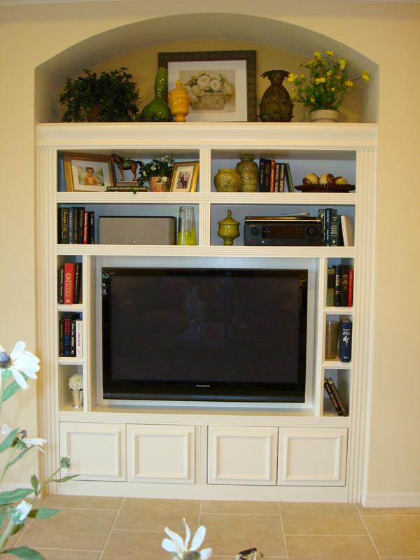 Custom Tv Cabinet Jpg Sarasota Fl Kitchen Bath Cabinets From Creative Carpentry Built